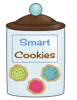 Smart Cookies - Sign for board