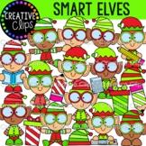 Smart Elf Clipart (Christmas Clipart)