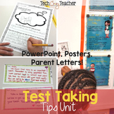 Test Taking Tips: Complete Standardized & Academic Testing Tips Unit (Editable)
