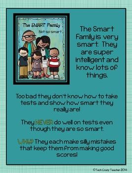 Test Taking Tips: Complete Standardized & Academic Testing Tips Unit (Editable)