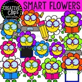 Smart Flowers Clipart {Creative Clips Clipart}