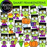 Smart Frankenstein Clipart {Halloween Clipart}