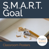 How to Write Goals: SMART Goal Classroom Posters and Health Skill Activity