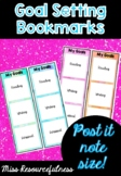 Smart Goal Setting Bookmarks - Literacy, Numeracy and Personal