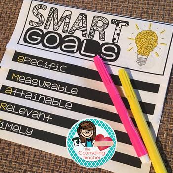SMART Goals Flip Book