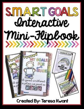 Smart Goals for Back to School Interactive Mini Flipbook