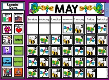 2018 Smart Kinder Kids BUNDLE - May Calendar Pack AND Language Pack SMARTboard