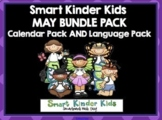 2020 Smart Kinder Kids BUNDLE - May Calendar Pack AND Language Pack SMARTboard
