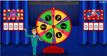 Smart Lab sight words game show number 5