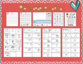 """Smart Lessons: A Week of """"Smartness""""  Set #1 Aa-Mm"""