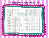 "Smart Lessons: A Week of ""Smartness""  Set #2 Nn-Zz"
