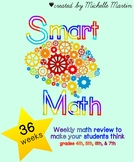 Smart Math Review (36 Weeks)
