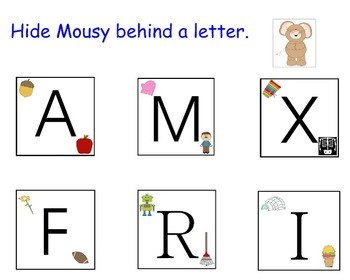Smart Notebook Alphabet Learning Game