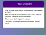 Smart Notebook: Hurricanes and Severe Weather