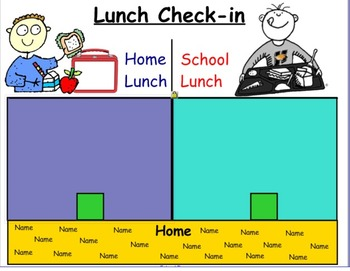 Smart Notebook Lunch and Attendance Check In