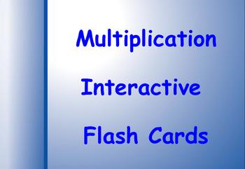 Smart Notebook Multiplication Flashcards
