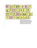 Smart Notebook Spanish Alphabet Routine
