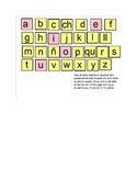 Smart Notebook Spanish Alphabet Routine