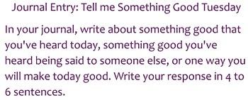 Smart Notebook Tuesday Journals
