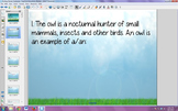 Smart Notebook file  7th grade life science Ecology Questions Review