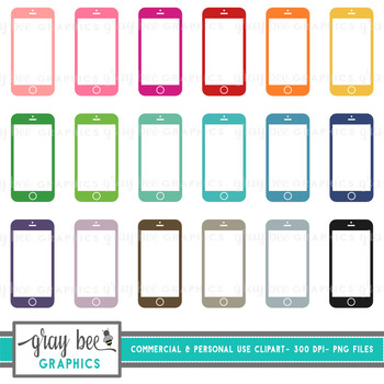 Smart Phone Clip Art Pack
