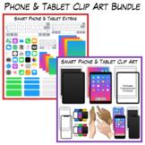 Smart Phone & Tablet Clip Art Bundle