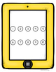 Smart Phone Tablet Counting Hands-On Math Mats 1-25 Low Pr