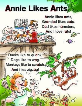 Smart Phonics Alphabet Poems