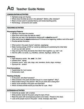 Smart Phonics Alphabet Teacher Manual