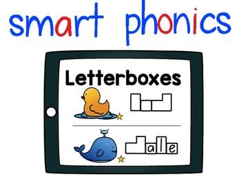 Smart Phonics Digraphs Letterboxes Freebie