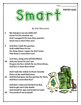 "Poem and Quiz - ""Smart"""