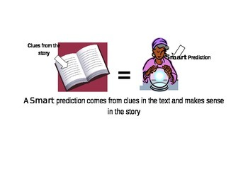 Smart Predictions Guided Reading Poster