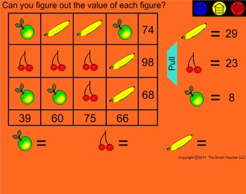 Smart Puzzles for the Smartboard