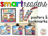 Smart Reading Strategies Posters and Bookmarks