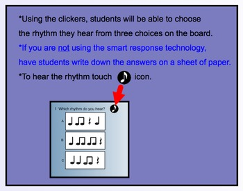 Smart Response Rhythmic Assessment