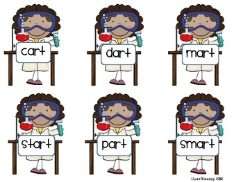 Smart Scientists: A R-Controlled Word Sort for -ar