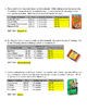 Smart Shopping - Finding the Best Buy (ratios, rates, unit rates)