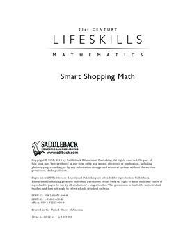 Smart Shopping Math (21st Century Lifeskills Mathematics)
