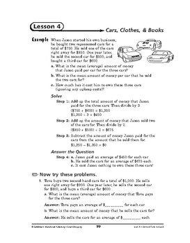 Smart Shopping Math: Second Time Around-Cars, Clothes, & Books