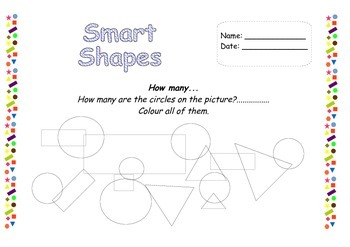 Smart Shapes - puzzles and logical tasks