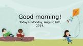 Reading Wonders Smart Start Unit 0 Week 3 PPt.