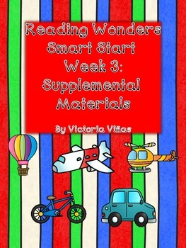 Smart Start Week Three Supplemental Material