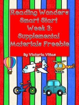Smart Start Week Three Supplemental Material Freebie