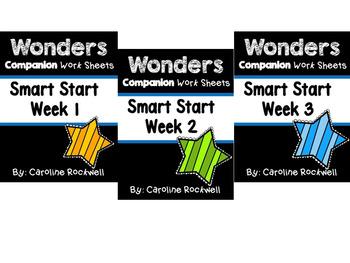 Smart Start Weeks 1-3 Worksheets/Centers