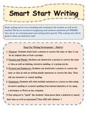 Smart Start Writing for Kindergarten Using Standards