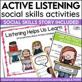 Social Story Listening Print Digital Video