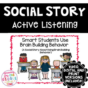 Smart Students Use Brain Building Behaviors (A Social Story)