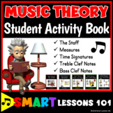 MUSIC Worksheets: Music Theory Worksheets: Theory Activity Bk & Teaching Videos