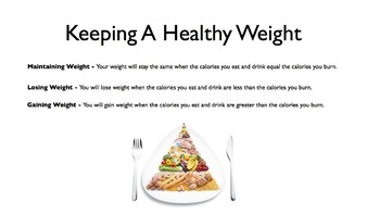 Smart Weight Control PowerPoint