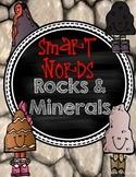 Smart Words Rocks and Minerals Comprehension Activities